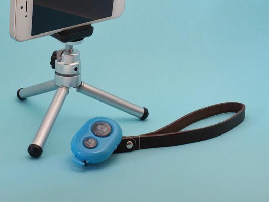Alternative Life Tool #12 ダイソースマートフォン用Bluetoothリモートシャッター