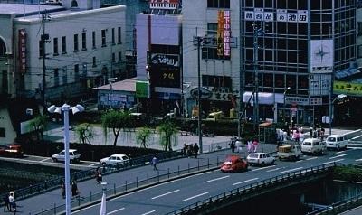 昭和60年頃の新町橋風景