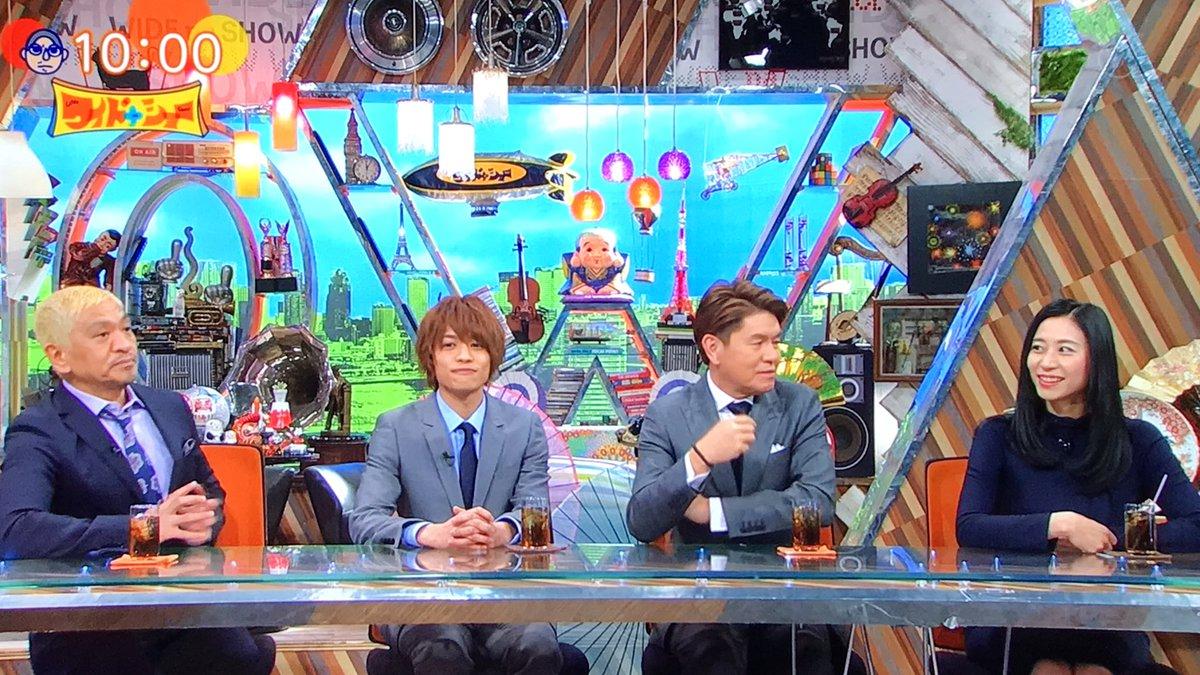 【ワイドナショー】ジャニーズWEST中間淳太が初登場で爪痕!視聴者「あいつ面白い」