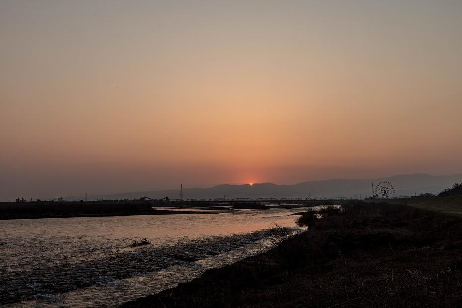 2018.03.25 手取川の朝景 1