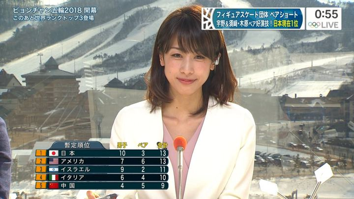 2018年02月09日加藤綾子の画像06枚目