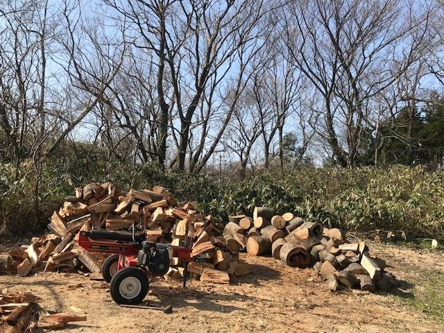 薪割り春春3