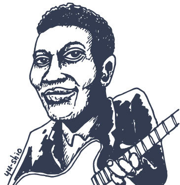 Grant Green caricature likeness