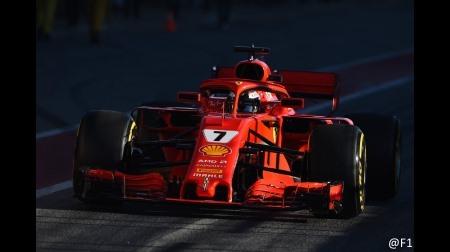 2018F1プレシーズンテスト2:バルセロナ4日目総合結果