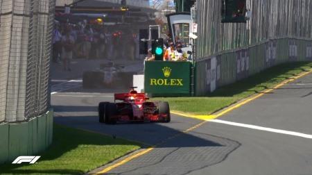 2018年F1第1戦オーストラリアGP、FP1結果