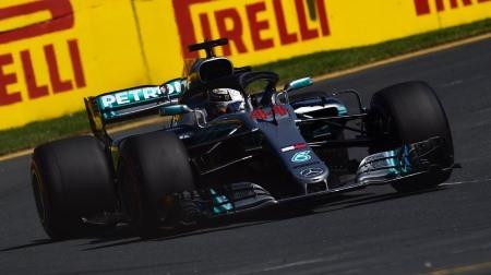 2018年F1第1戦 オーストラリアGP、PPはハミルトン