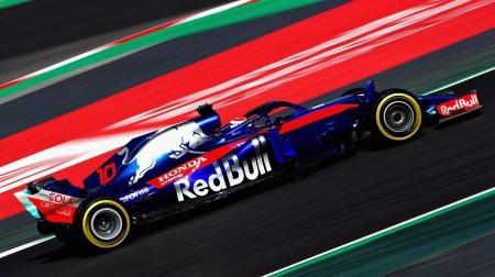 トロロッソ・ホンダ、ブレーキに問題@F1バルセロナテスト2回目