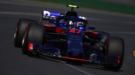 トロロッソ・ホンダの様子@F1オーストラリアGP初日