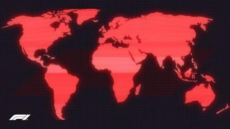 F1公式動画と世界と日本