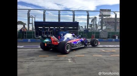 トロロッソ・ホンダ、2台揃ってQ1落ち@F1オーストラリアGP予選