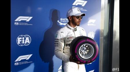 ハミルトンが驚異的なタック@F1オーストラリアGP予選