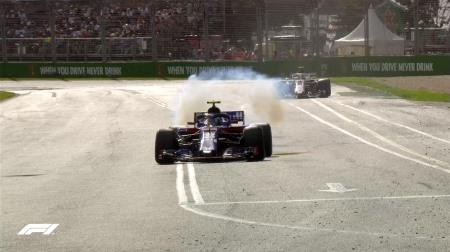 F1オーストラリアGP:トロロッソ・ホンダのガスリーはMGU-Hのトラブルでリタイアだった模様