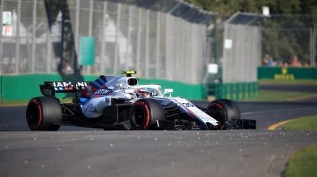 パフォーマンスがおもわしくないウィリアムズ@F1オーストラリアGP