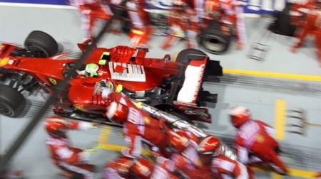 F1と給油@2018.04.02