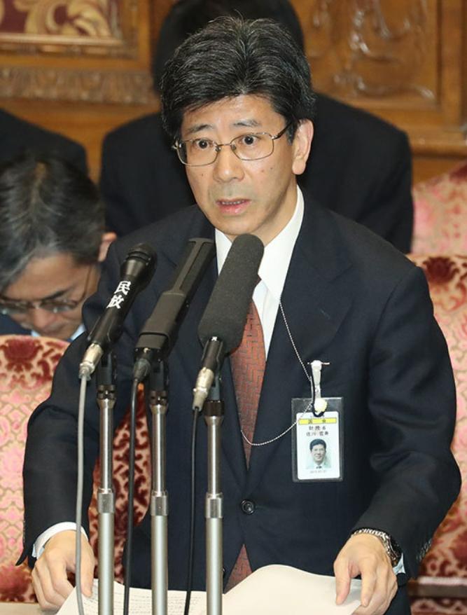国税庁長官を辞任した佐川宣寿氏_時事通信
