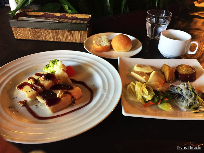 nouvelle dining green