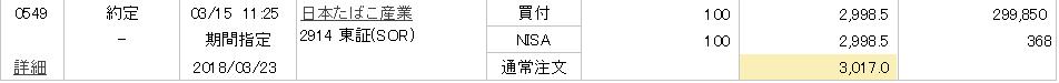 2018 3 15 nisa 約定