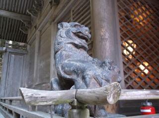 由岐神社狛犬