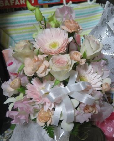 園長さんから頂いたお花