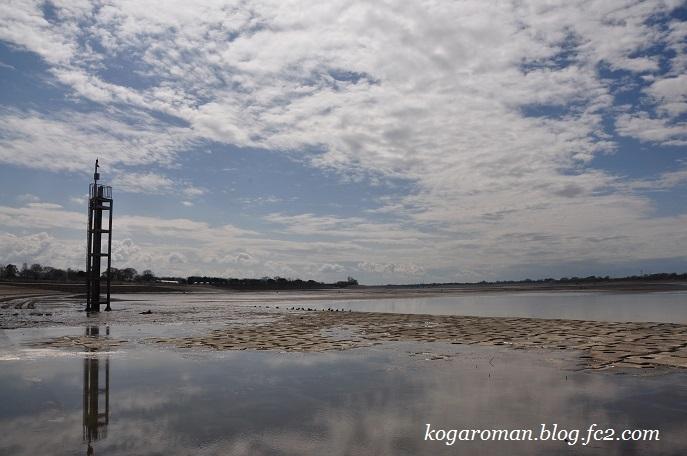 谷中湖は干し上げ期