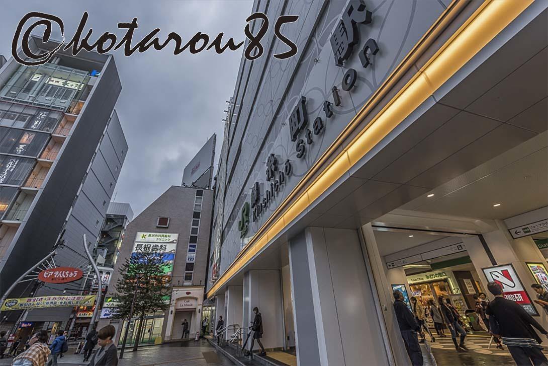 雨の錦糸町 20180306