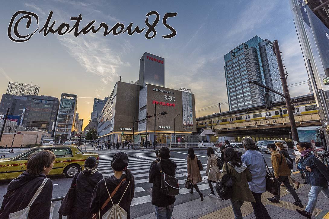 錦糸町夕景 20180327