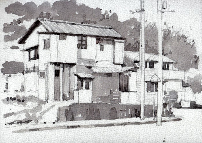 茨木の民家3  (700x495)