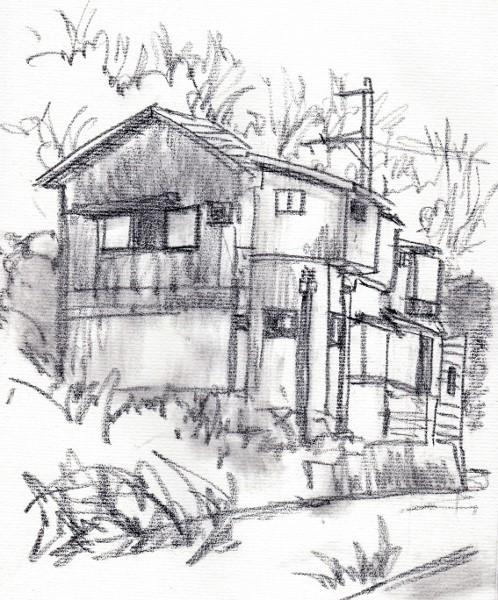 茨木の民家4 (498x600)