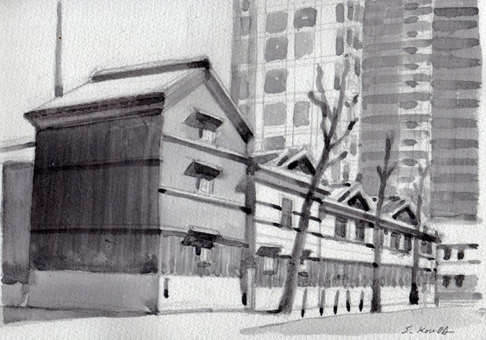 高麗橋 グリザイユ (700x491)