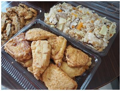 たけのこご飯と天ぷら1