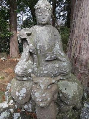 成田山石仏-53