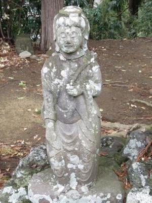 成田山石仏-57