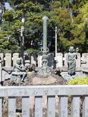 成田山石仏-84