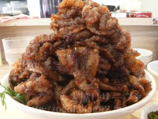 肉汁麺ススム巨大な肉の山028