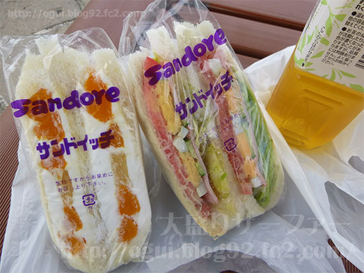 購入したサンドイッチ2種類017