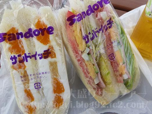 ボリューム満点のサンドイッチ027