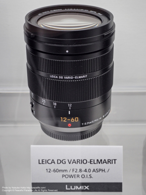 LEICA DG VARIO-ELMARIT 12-60mm / F2.8-4.0 ASPH. / POWER O.I.S.