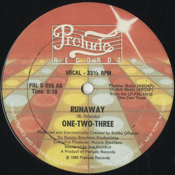 DG_ONE TWO THREE_RUNAWAY_201803