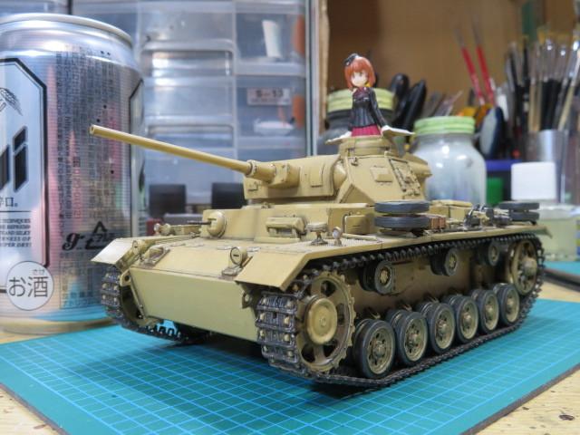 黒森峰女学園 Ⅲ号戦車J型 の2
