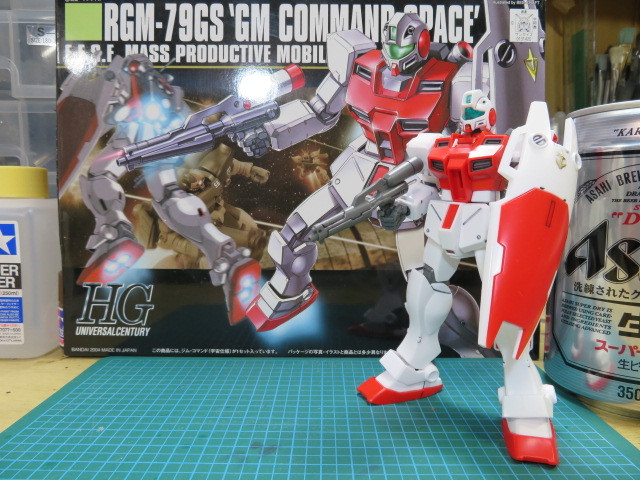 RGM-79G GM COMMAND SPACE の1