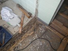 2階浴室被害