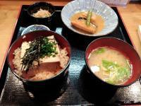 茶飯豆腐定食