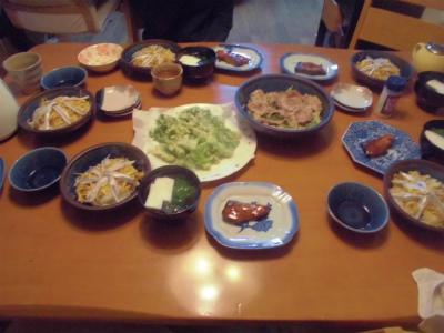 3.4夕食