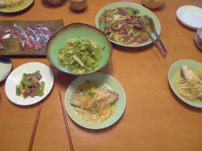3.8夕食