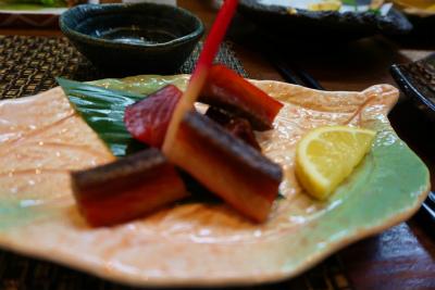 炙り鮭トバ