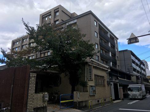 ヴィアイン京都四条室町・外観_H29.11.04撮影