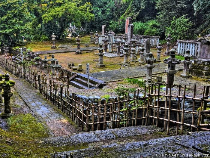 鳥取藩主池田家墓所