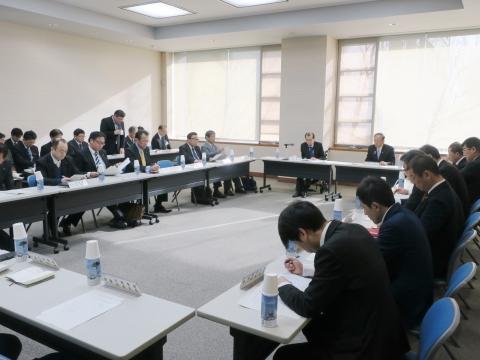 「正副委員長会議&小中学校統廃合会議」①