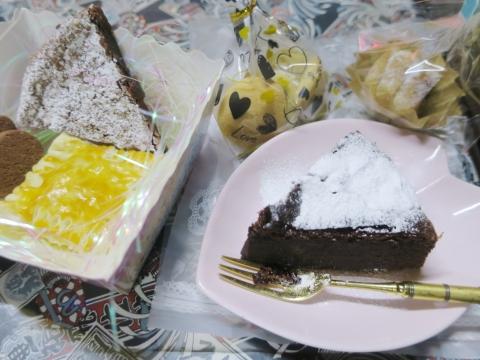 「バレンタインディーチョコ&ケーキ」①