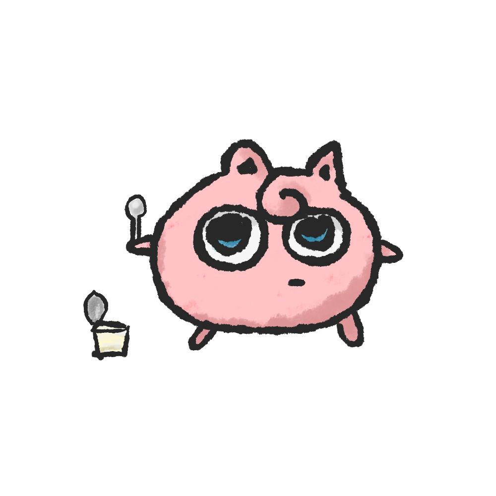 プリン食べられたプリン